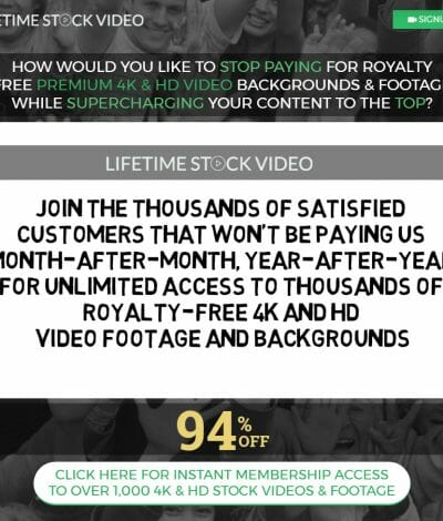 only lifetime deals - lifetime stock video