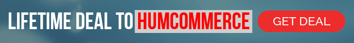 Only Lifetime Deals- HumCommerce Banner leaderboard