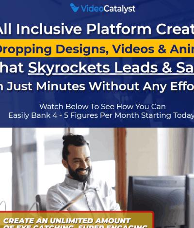 Only Lifetime Deals - Lifetime Deal to Video Catalyst header